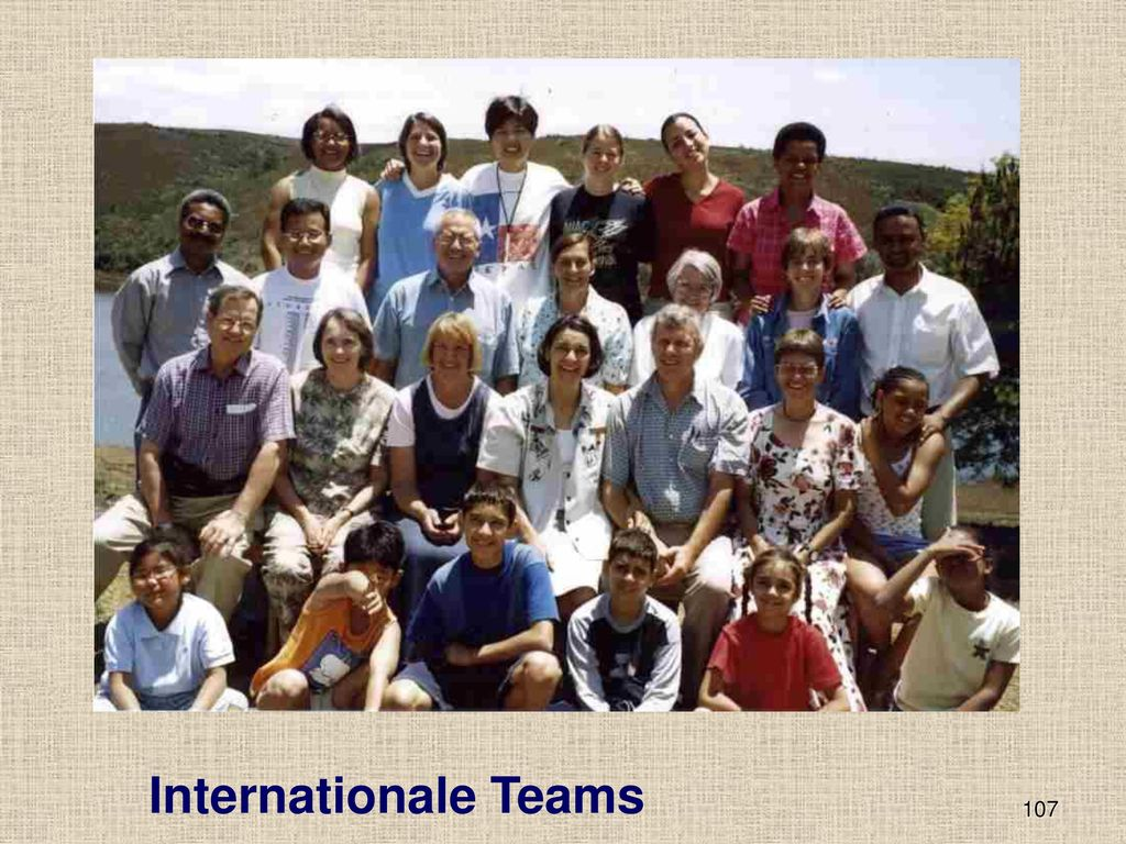 Internationale Teams 107