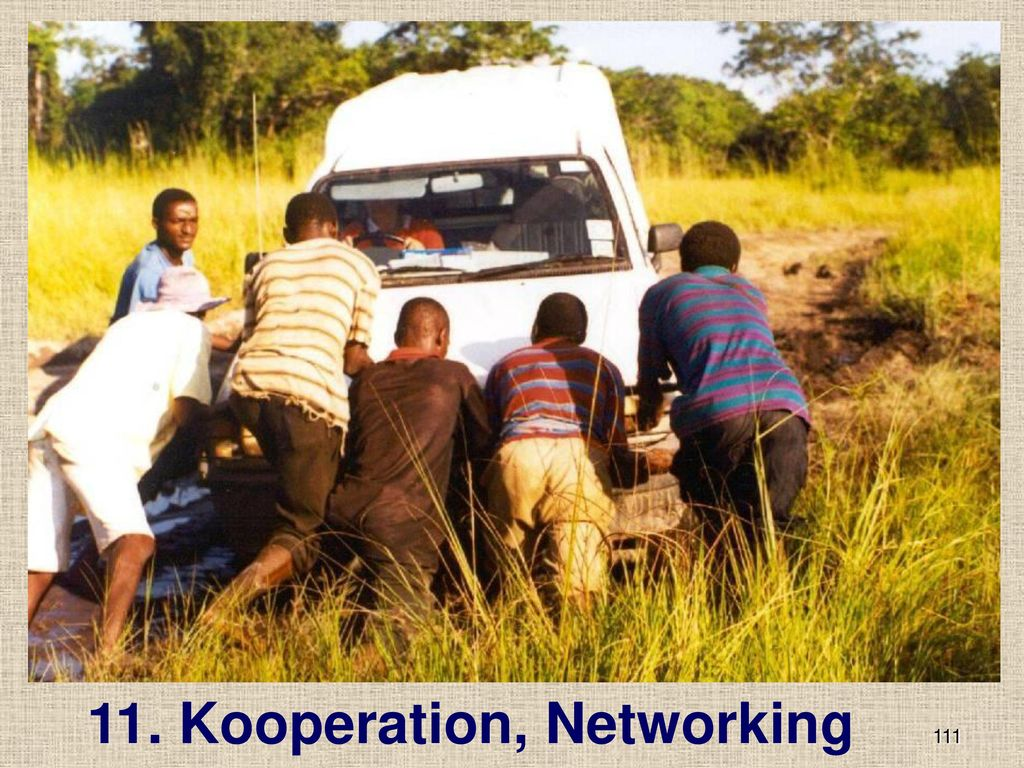 11. Kooperation, Networking
