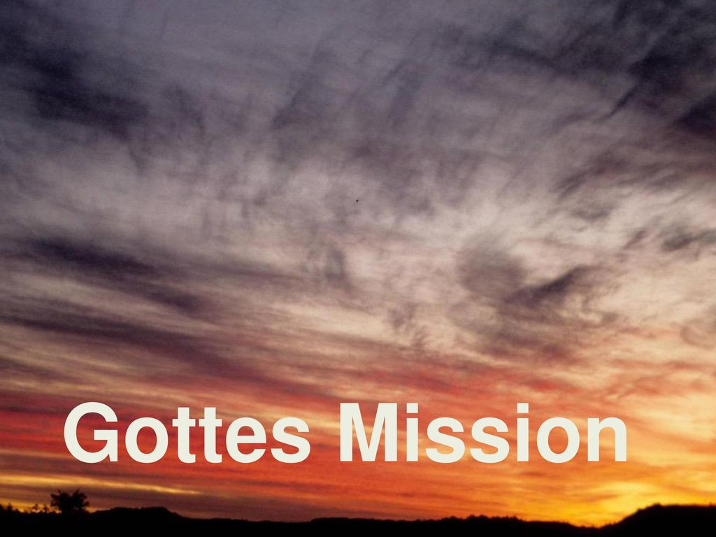 Gottes Mission