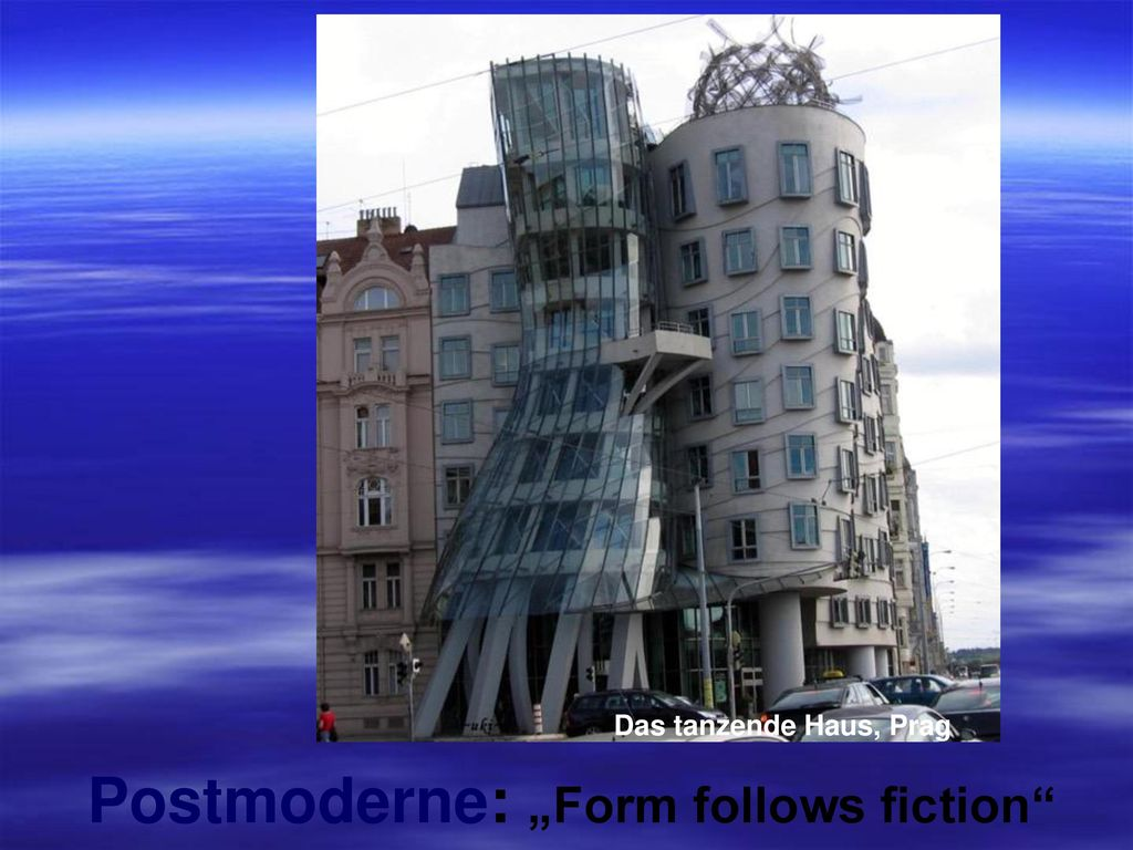 "Postmoderne: ""Form follows fiction"