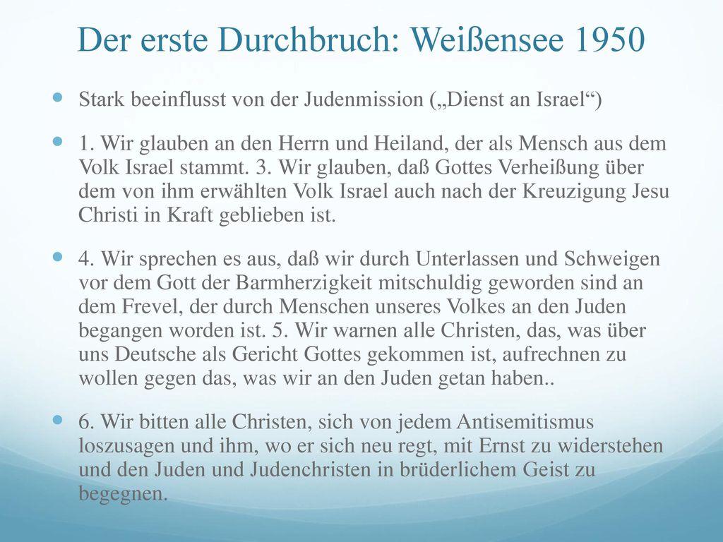 Der erste Durchbruch: Weißensee 1950