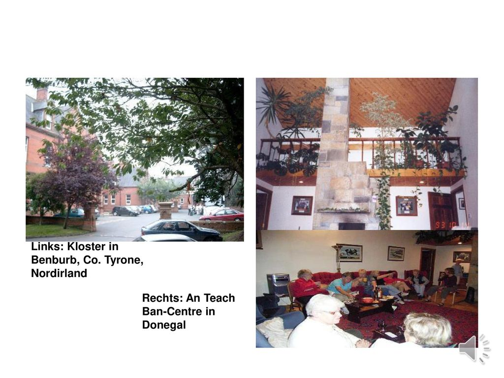 Links: Kloster in Benburb, Co. Tyrone, Nordirland