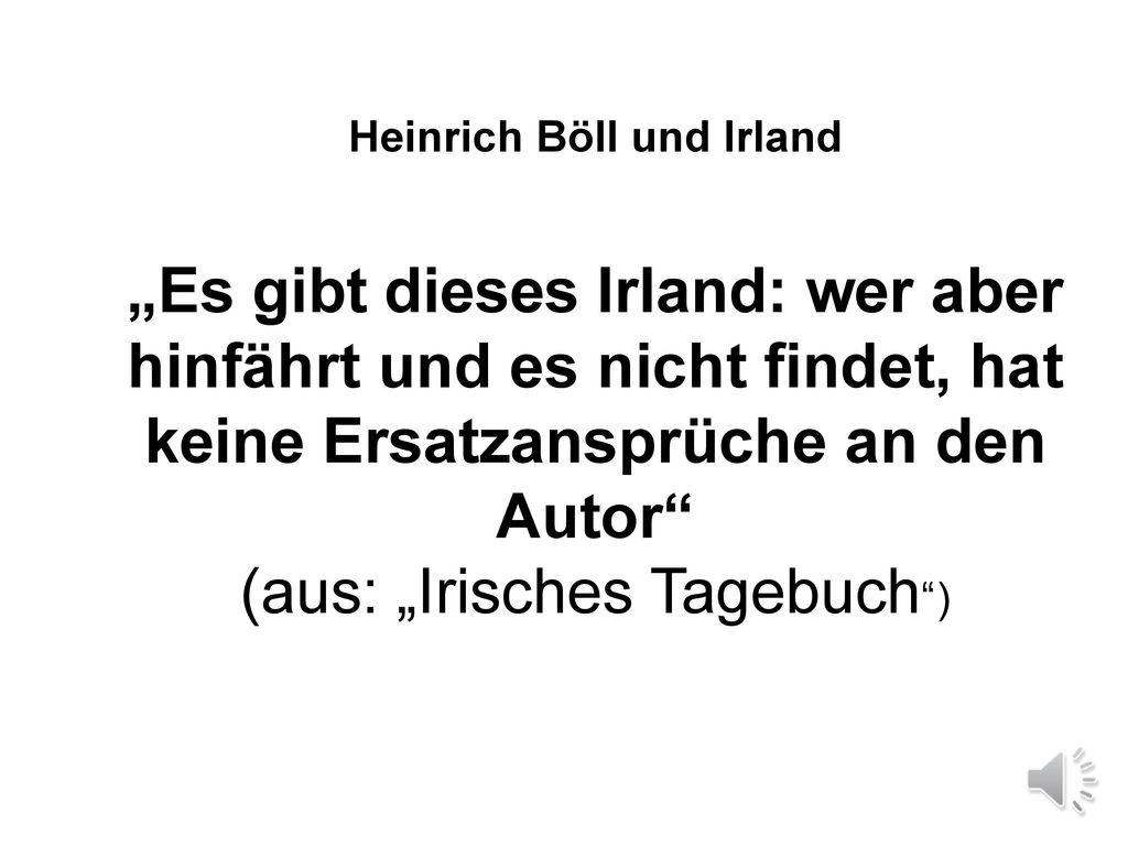 Heinrich Böll und Irland