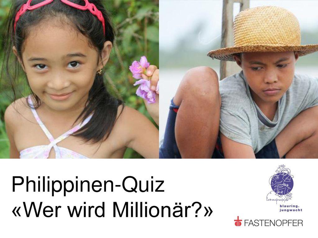 Philippinen-Quiz «Wer wird Millionär »