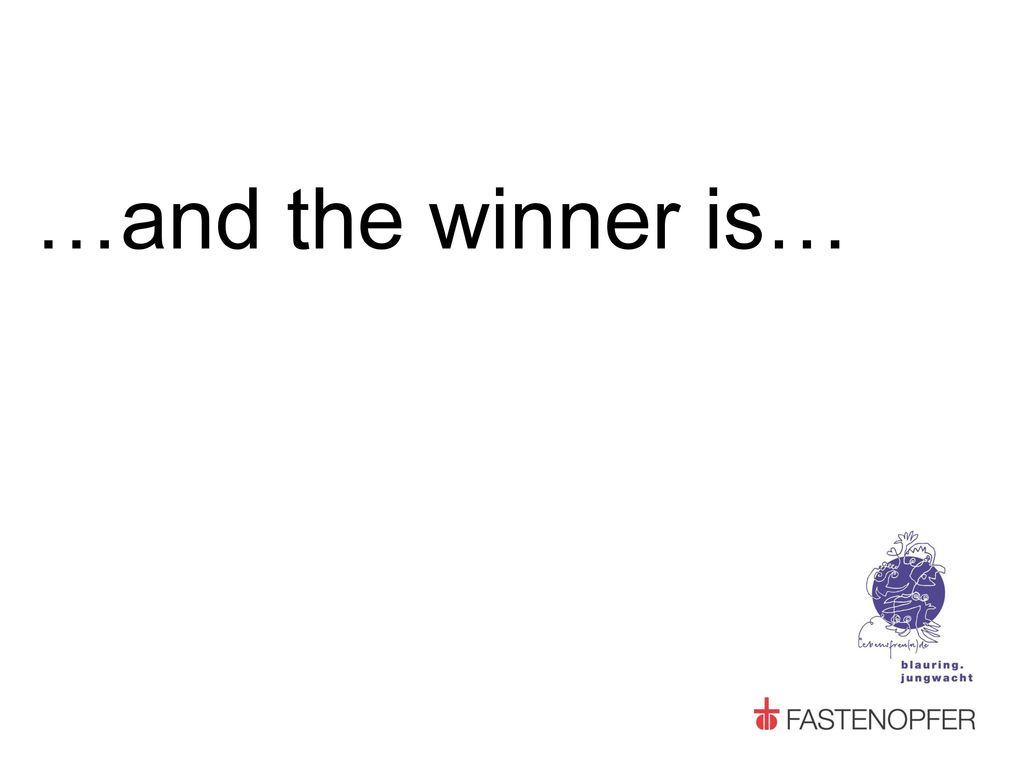 …and the winner is…