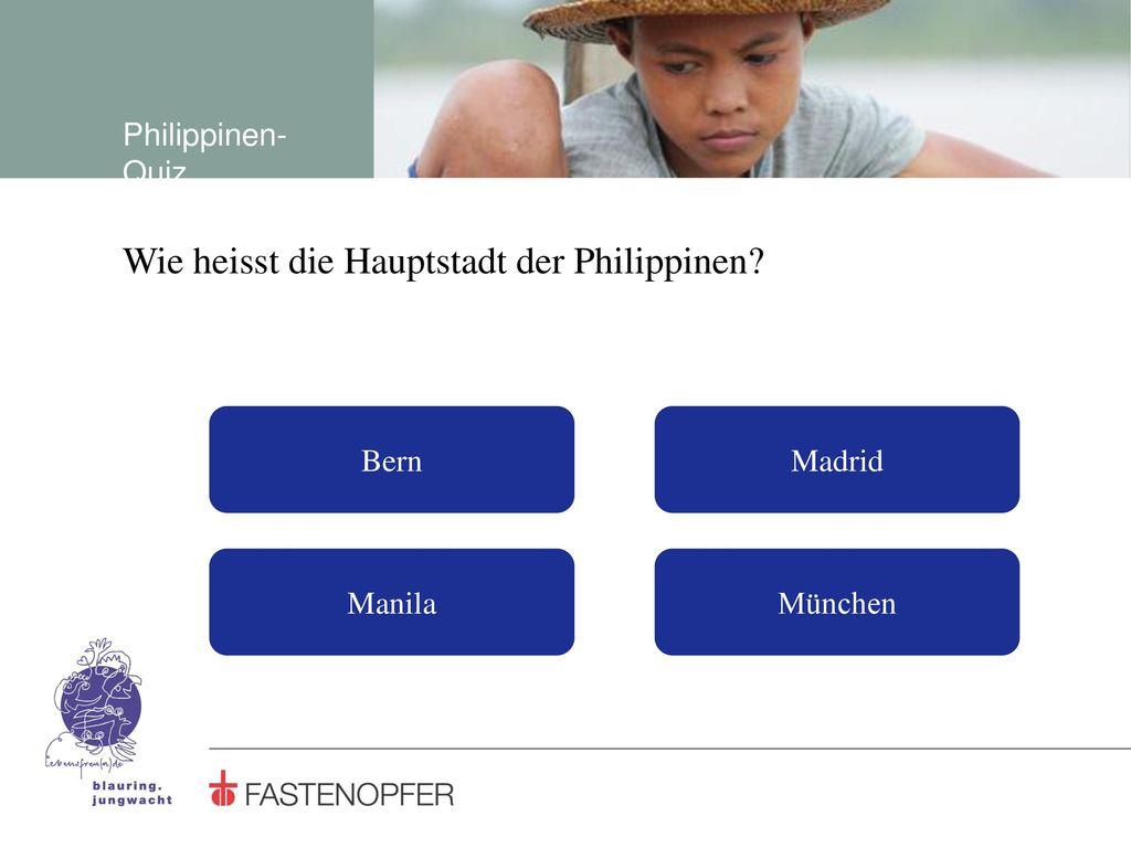 Wie heisst die Hauptstadt der Philippinen