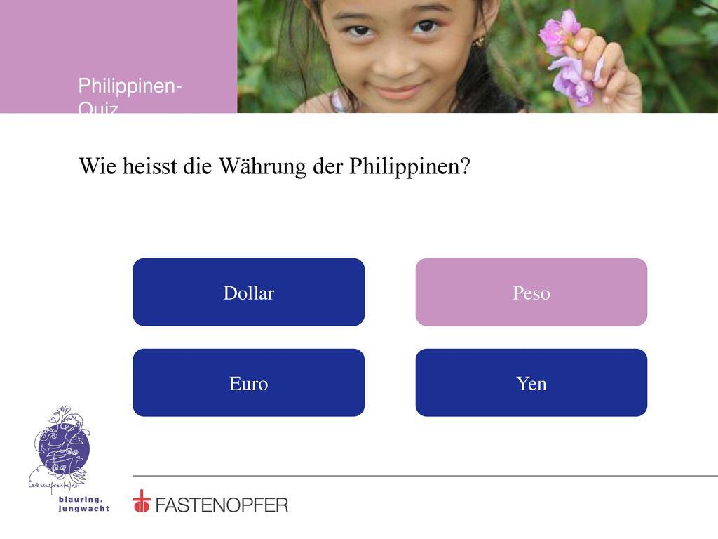 Wie heisst die Währung der Philippinen