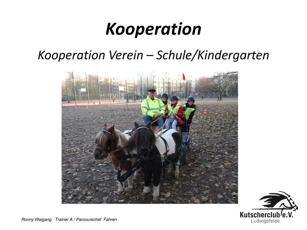 Kooperation Verein – Schule/Kindergarten
