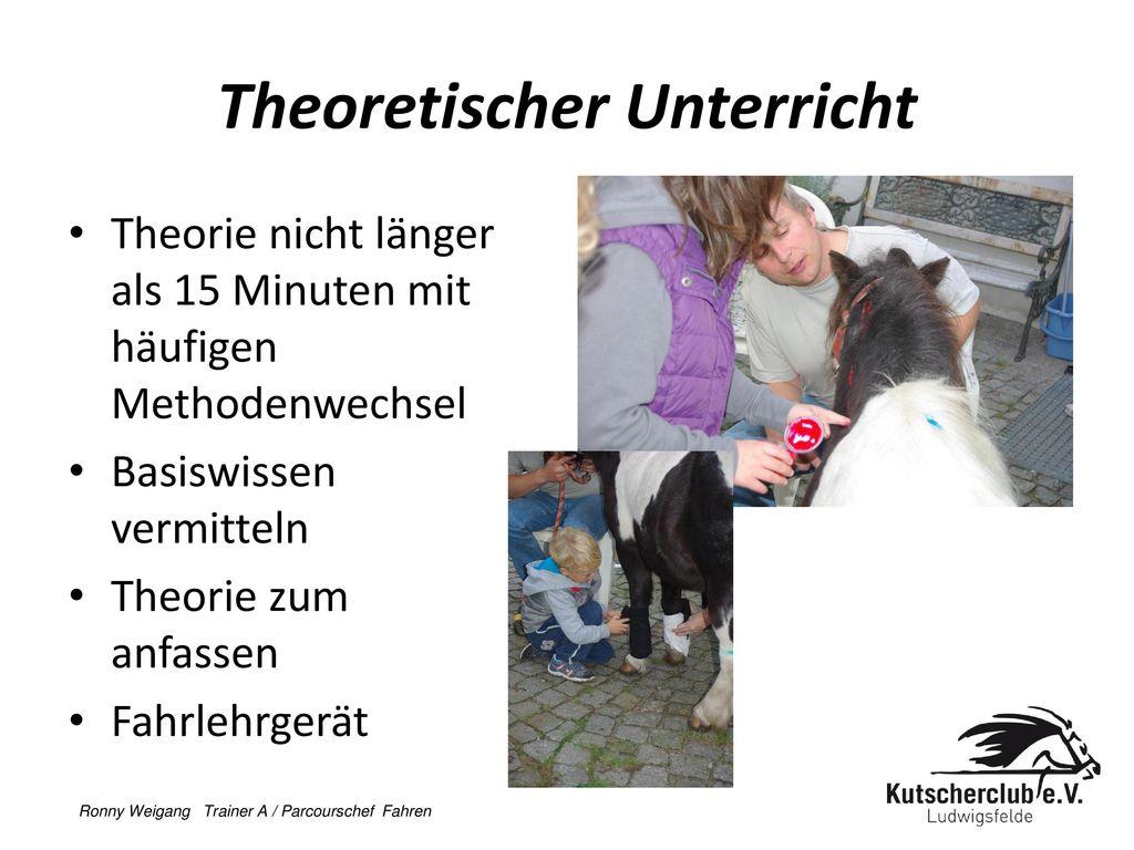 Theoretischer Unterricht
