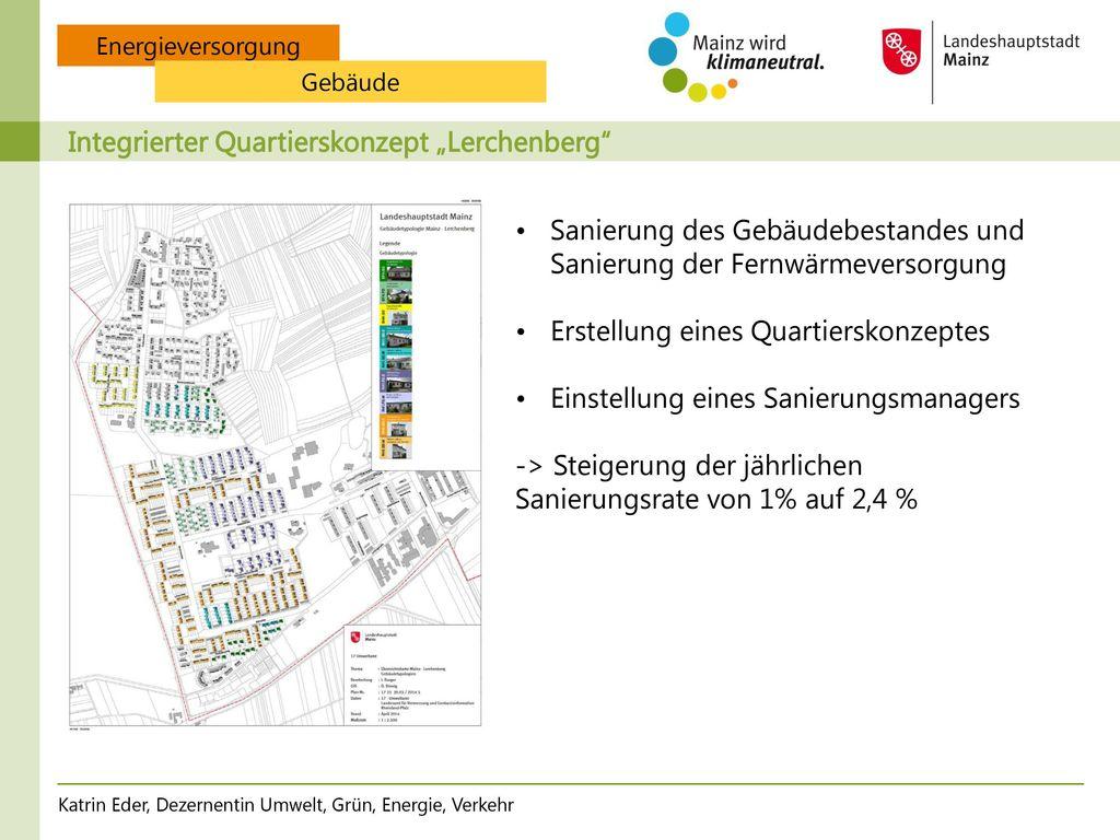 Stromwende in der Stadt Mainz