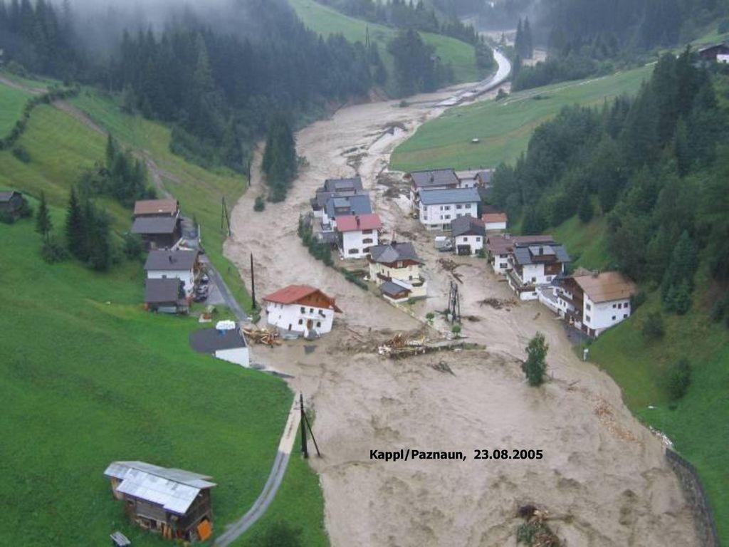 Kappl/Paznaun, 23.08.2005 Crues