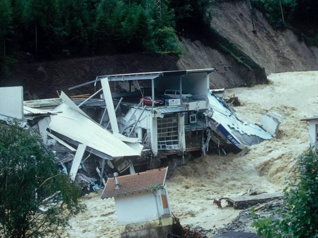 Augusthochwasser 2005