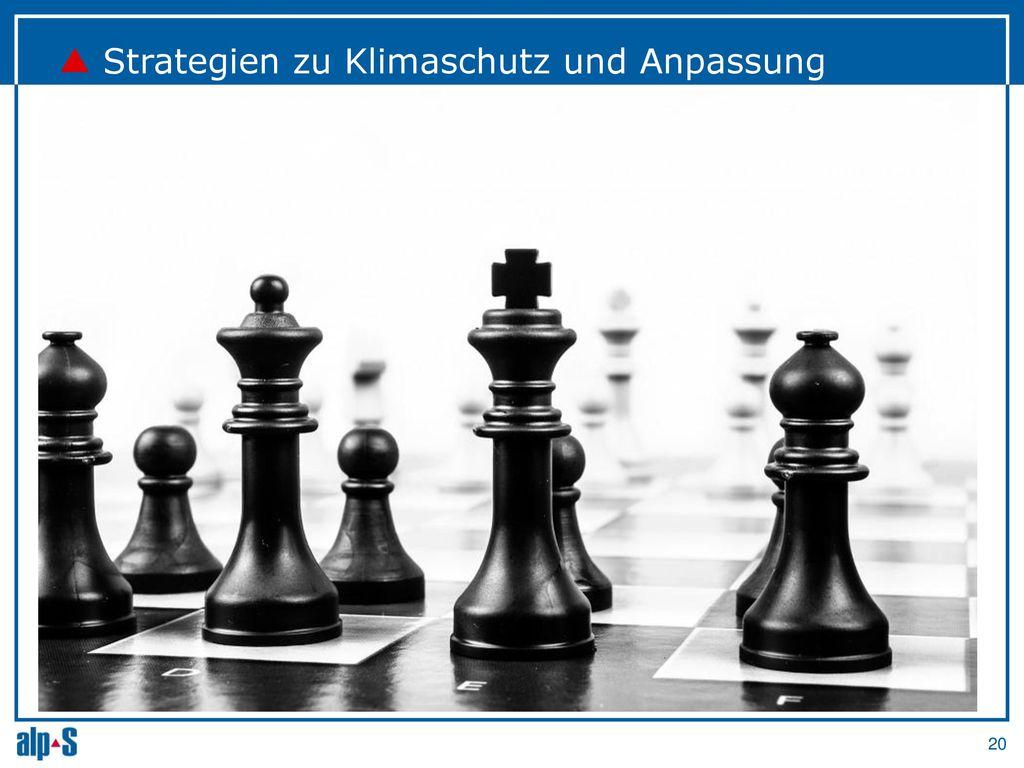 Strategien zu Klimaschutz und Anpassung