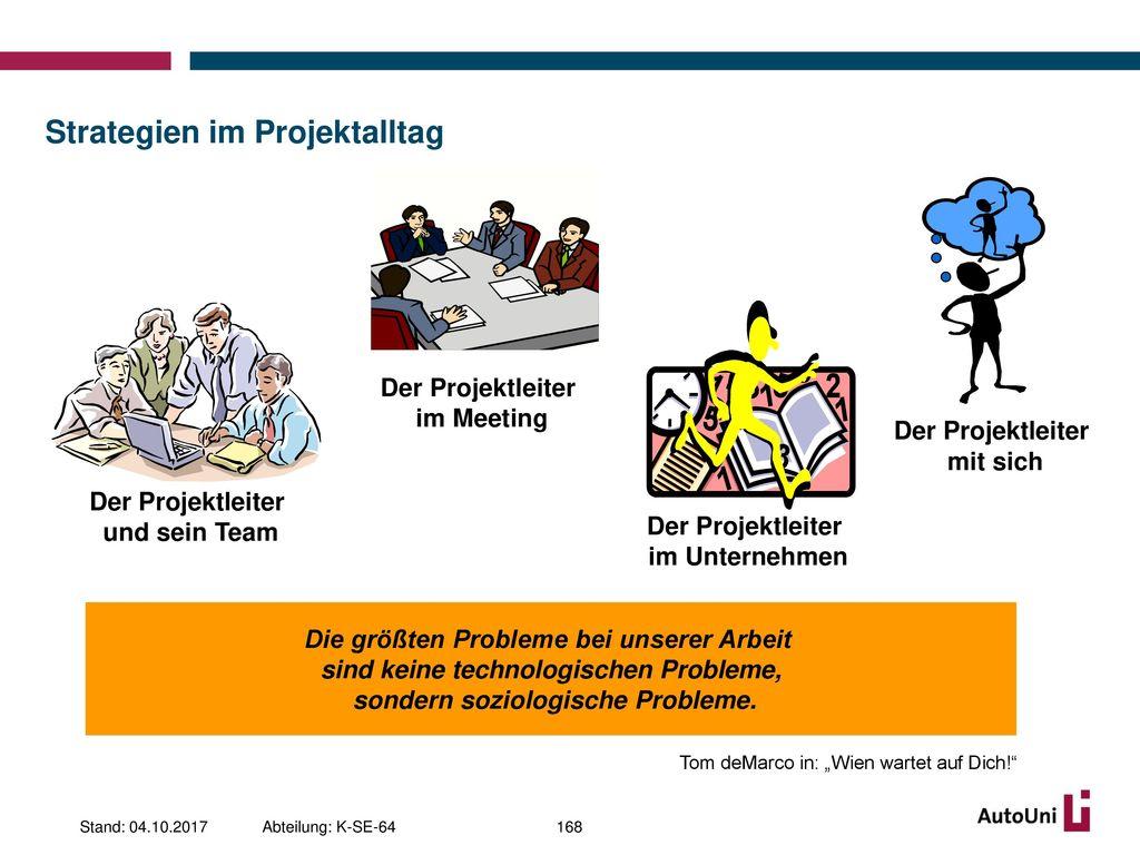 Strategien im Projektalltag