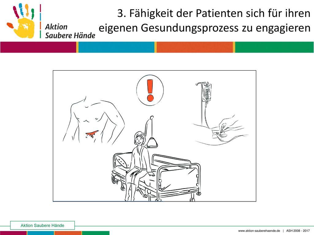 3. Fähigkeit der Patienten sich für ihren eigenen Gesundungsprozess zu engagieren