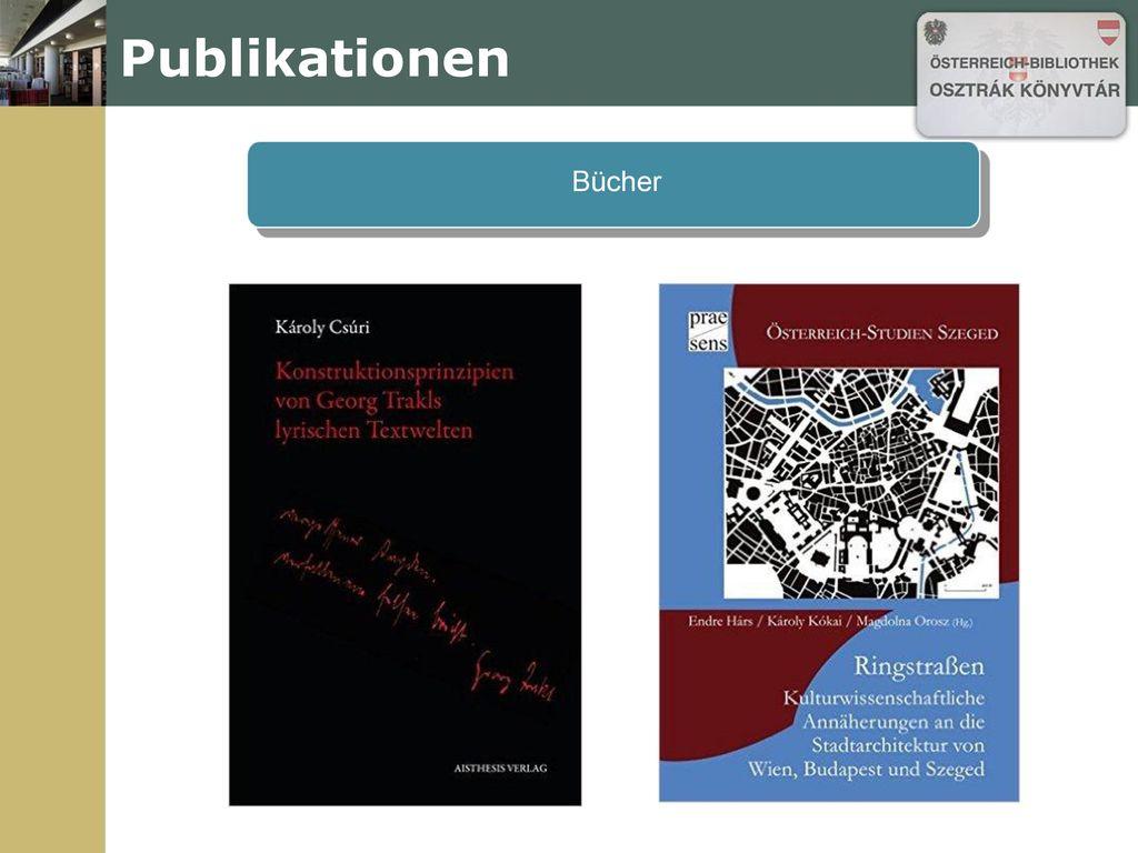 Publikationen Bücher Bücher