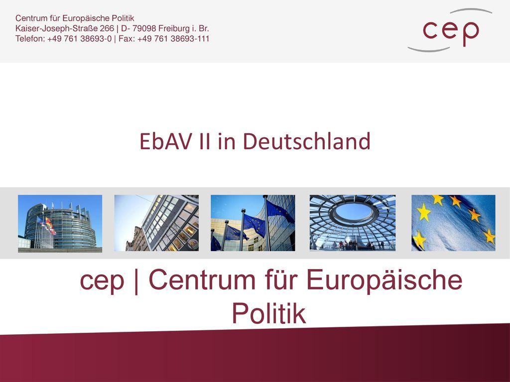 cep | Centrum für Europäische Politik