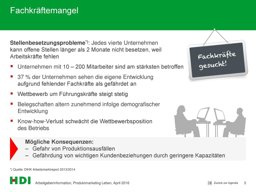 Fachkräftemangel Stellenbesetzungsprobleme*): Jedes vierte Unternehmen