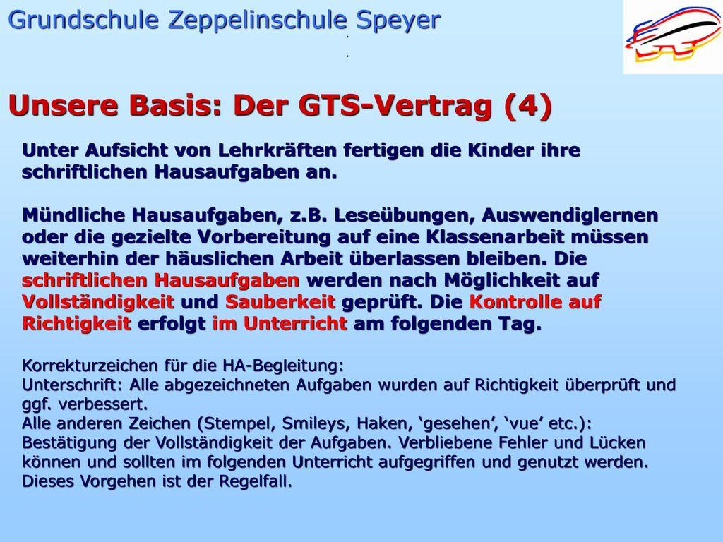 Unsere Basis: Der GTS-Vertrag (4)