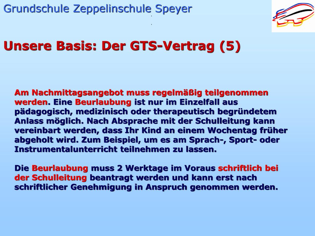 Unsere Basis: Der GTS-Vertrag (5)