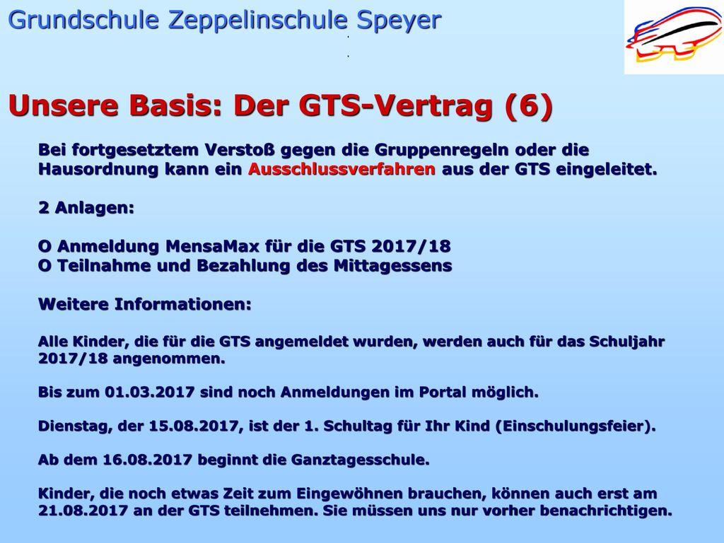 Unsere Basis: Der GTS-Vertrag (6)
