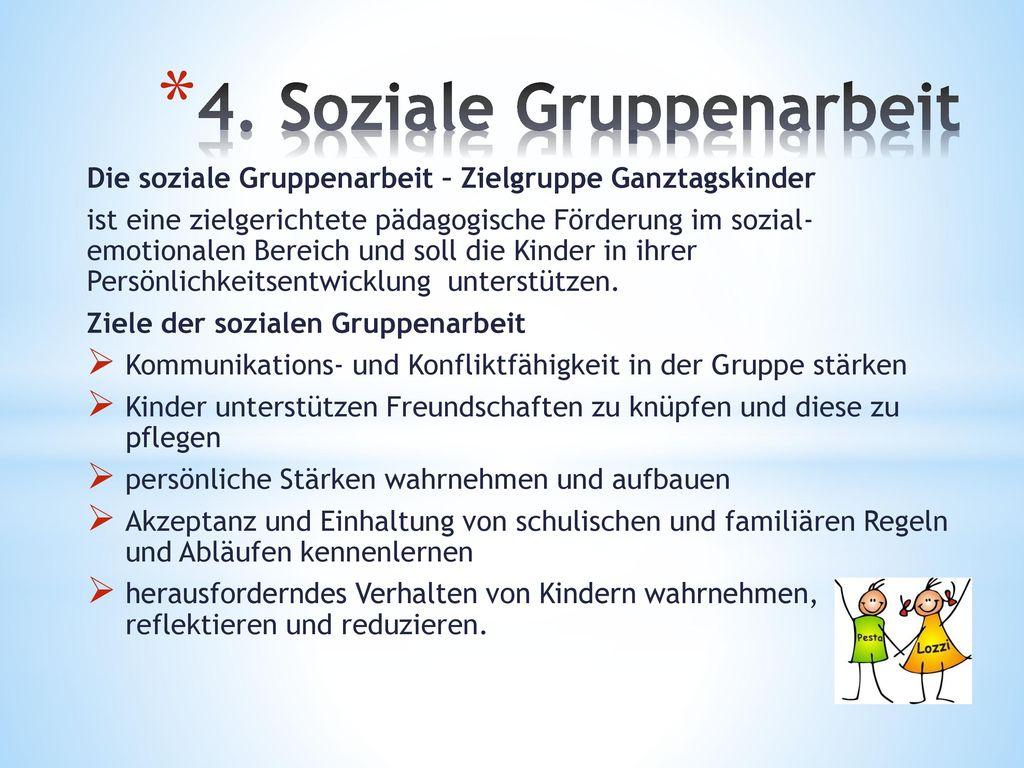 4. Soziale Gruppenarbeit