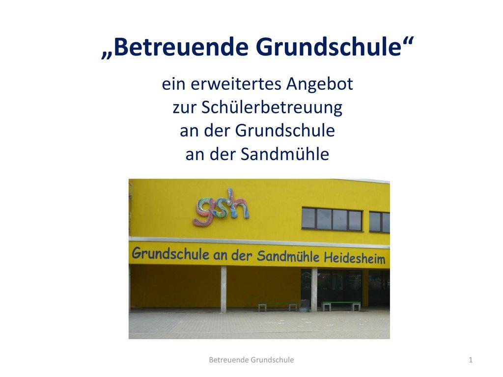 """Betreuende Grundschule"