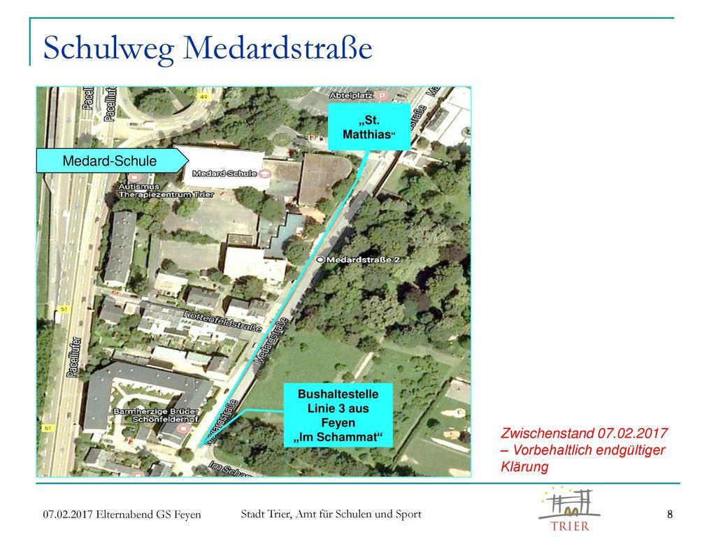 Schulweg Medardstraße