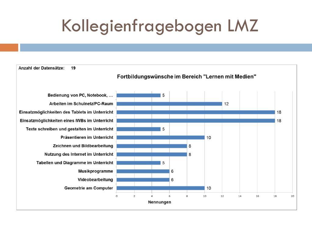 Kollegienfragebogen LMZ