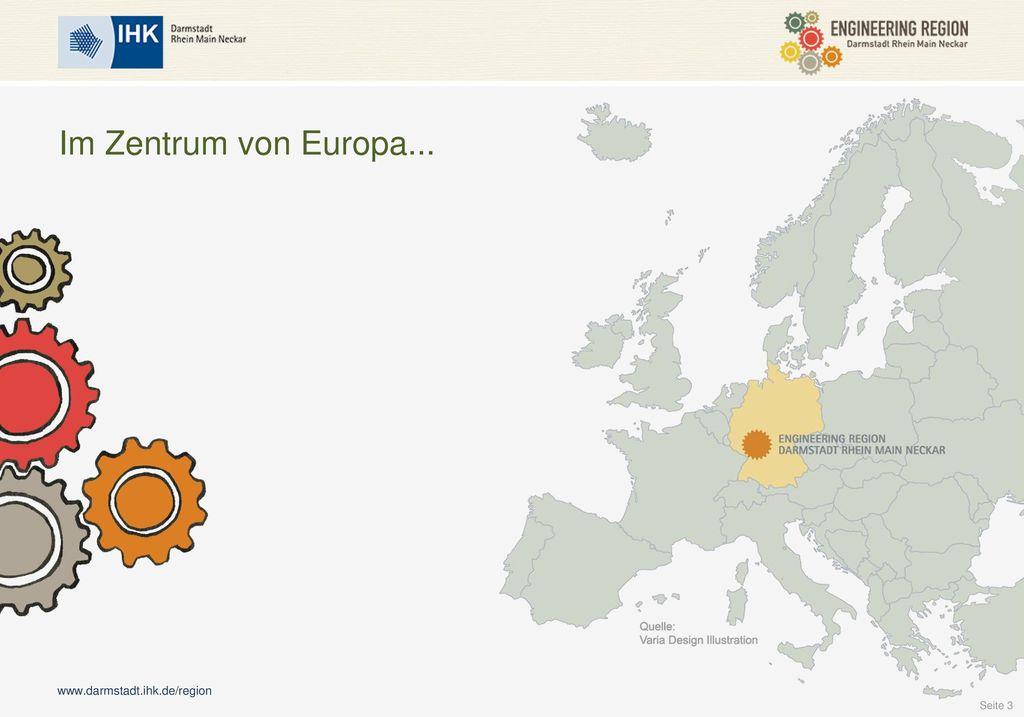 Im Zentrum von Europa... Im Zentrum Europas...