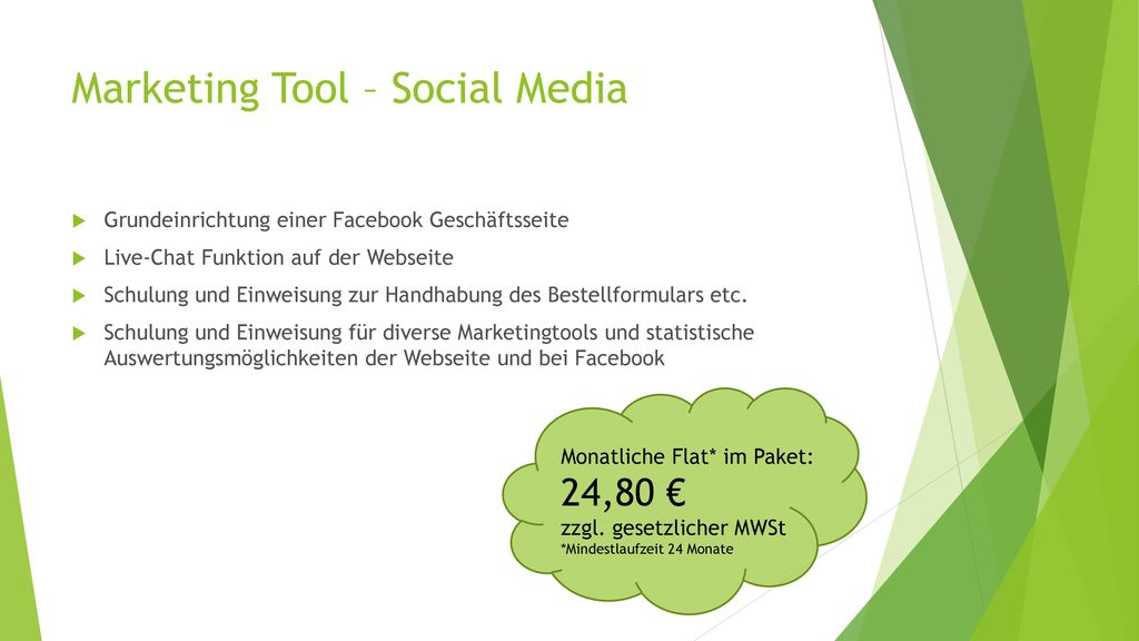 Marketing Tool – Social Media