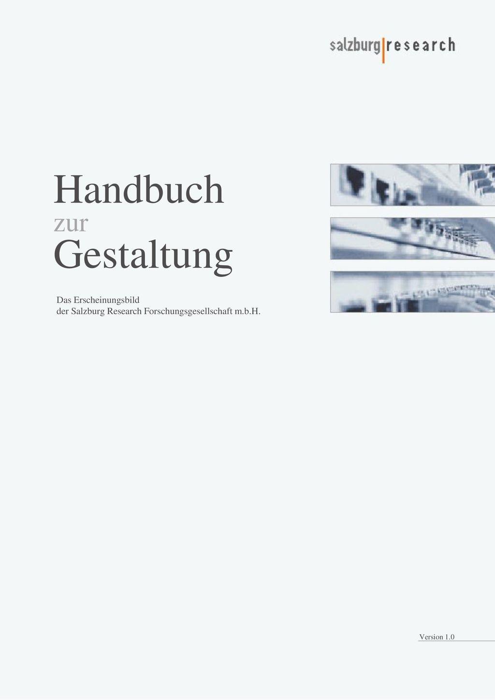Handbuch Gestaltung zur Das Erscheinungsbild