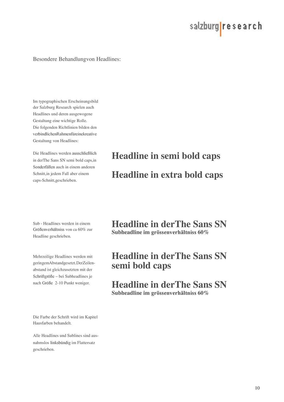 Headline in semi bold caps Headline in extra bold caps