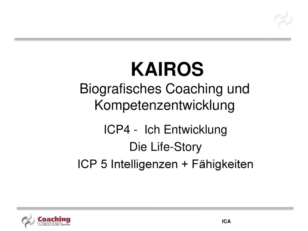 KAIROS Biografisches Coaching und Kompetenzentwicklung