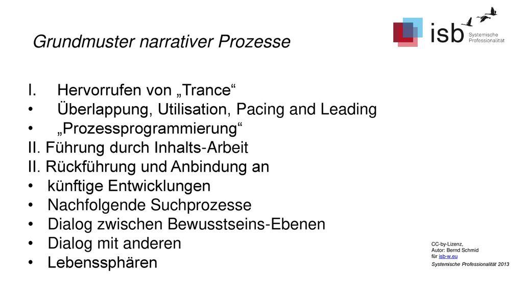 Grundmuster narrativer Prozesse