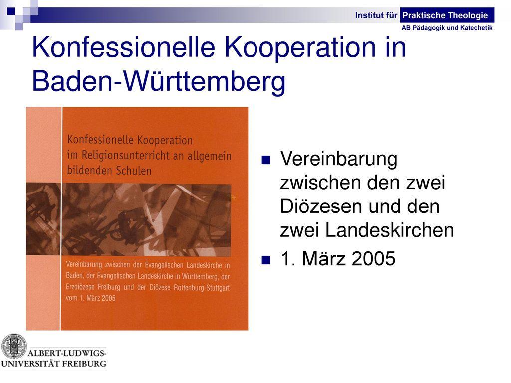 Konfessionelle Kooperation in Baden-Württemberg
