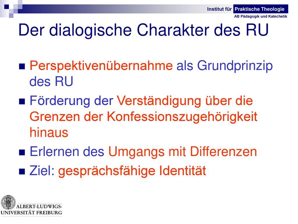 Der dialogische Charakter des RU