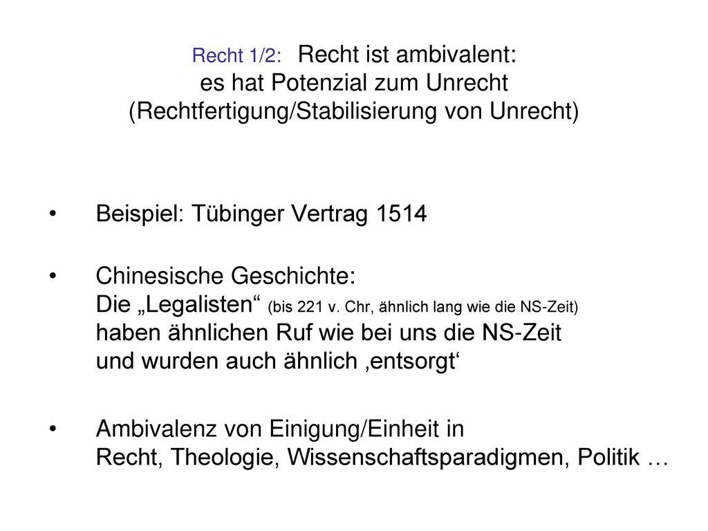 Beispiel: Tübinger Vertrag 1514