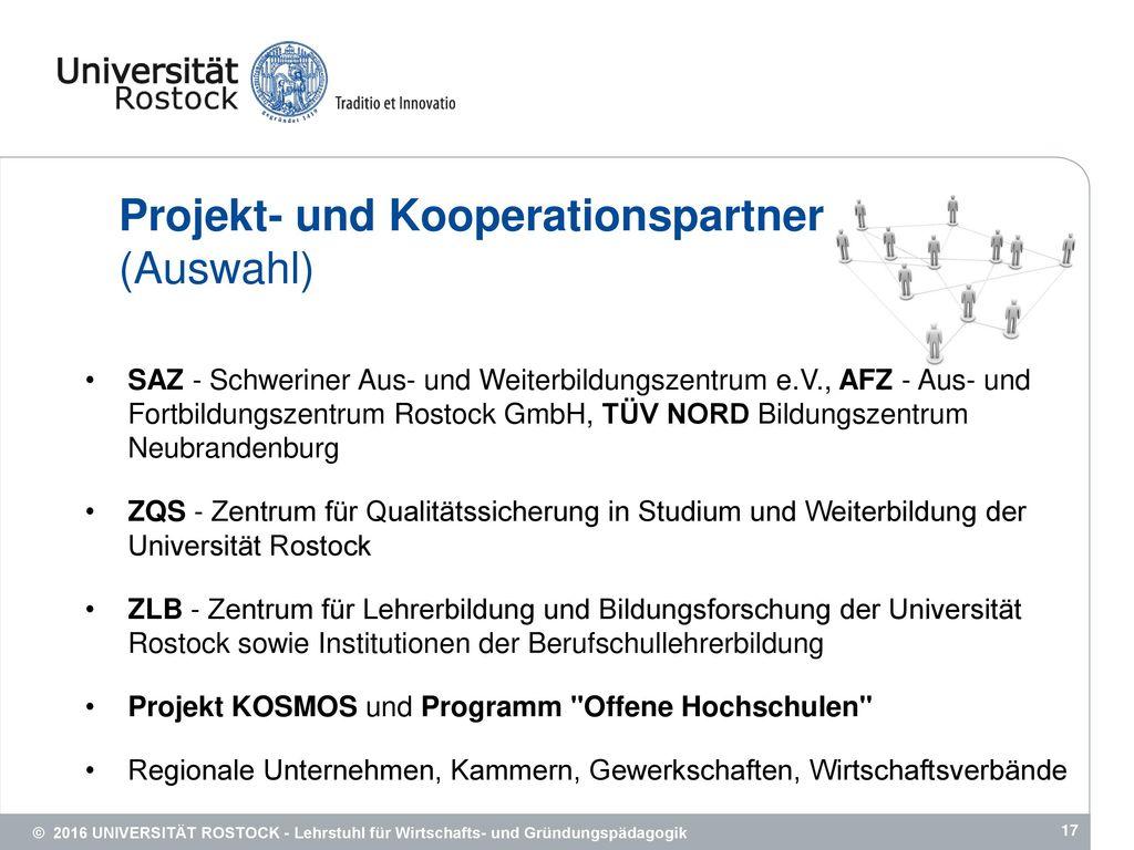 Projekt- und Kooperationspartner (Auswahl)