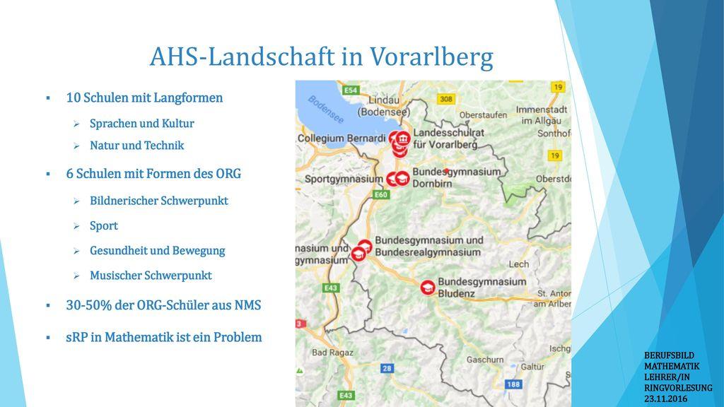 AHS-Landschaft in Vorarlberg
