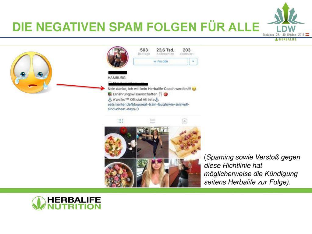 Die negativen spam Folgen für alle