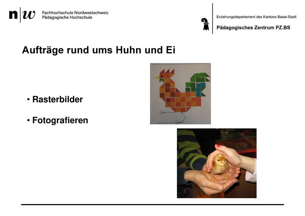 Aufträge rund ums Huhn und Ei