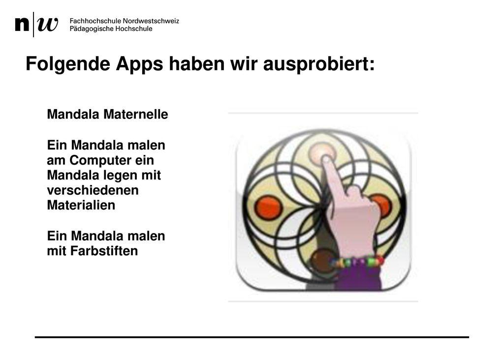 Folgende Apps haben wir ausprobiert: