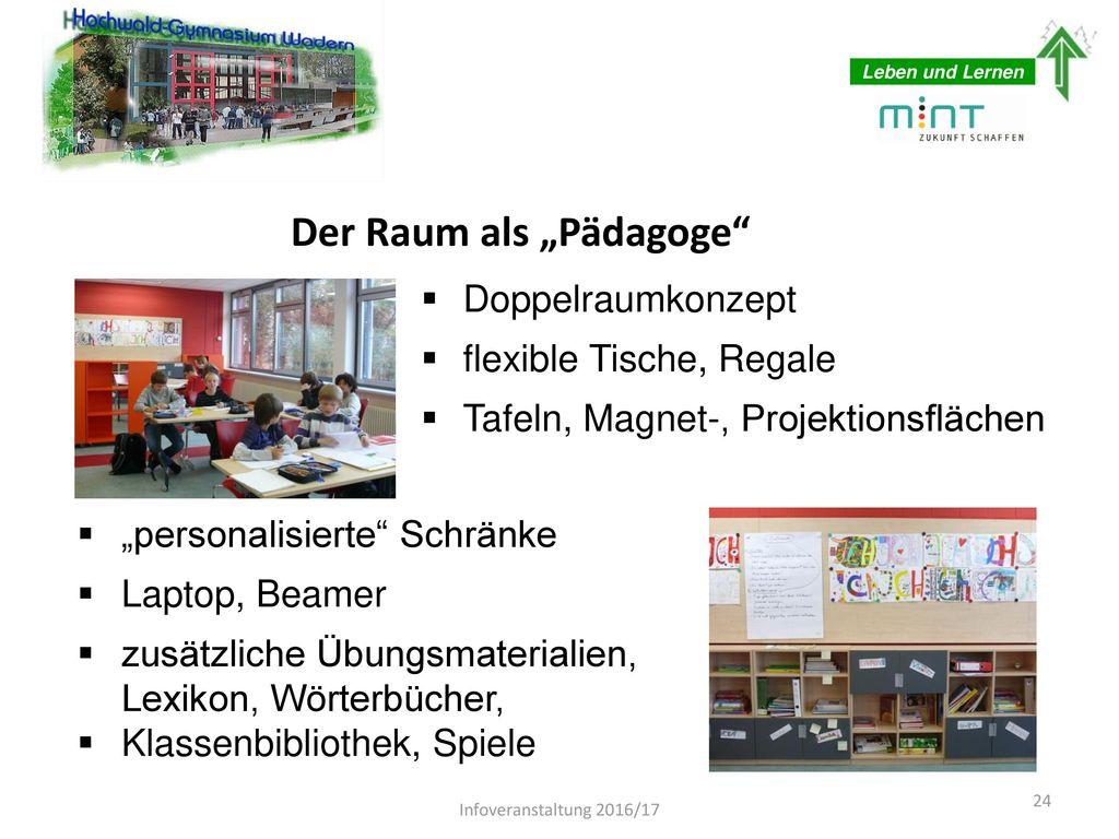 """Der Raum als """"Pädagoge"""