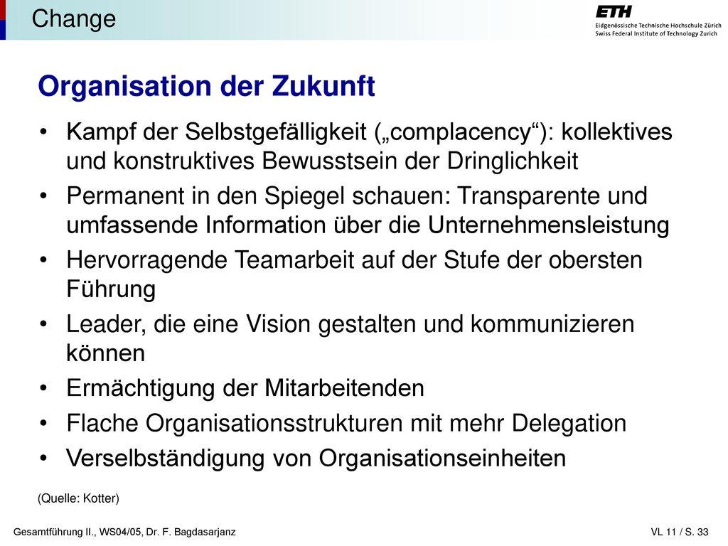 Organisation der Zukunft