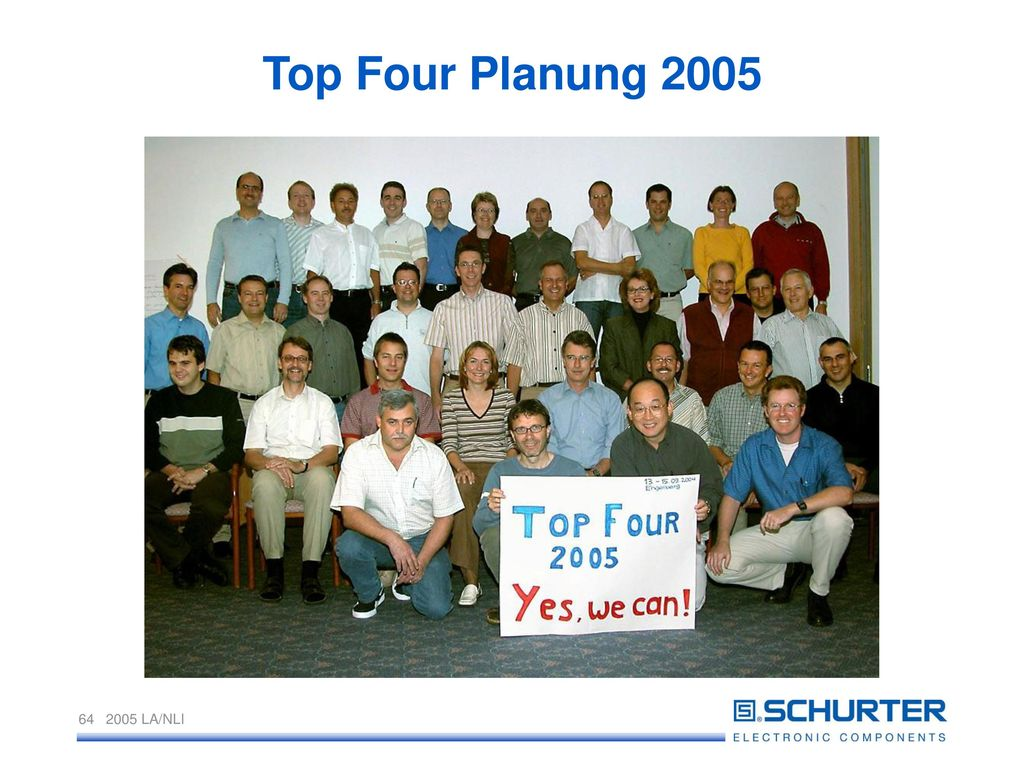 Top Four Planung 2005