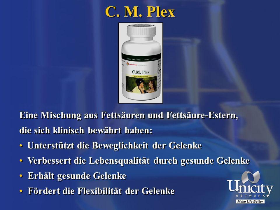 C. M. Plex Eine Mischung aus Fettsäuren und Fettsäure-Estern,