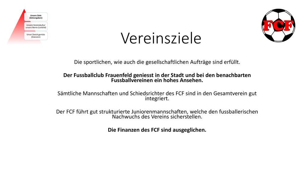 Die Finanzen des FCF sind ausgeglichen.