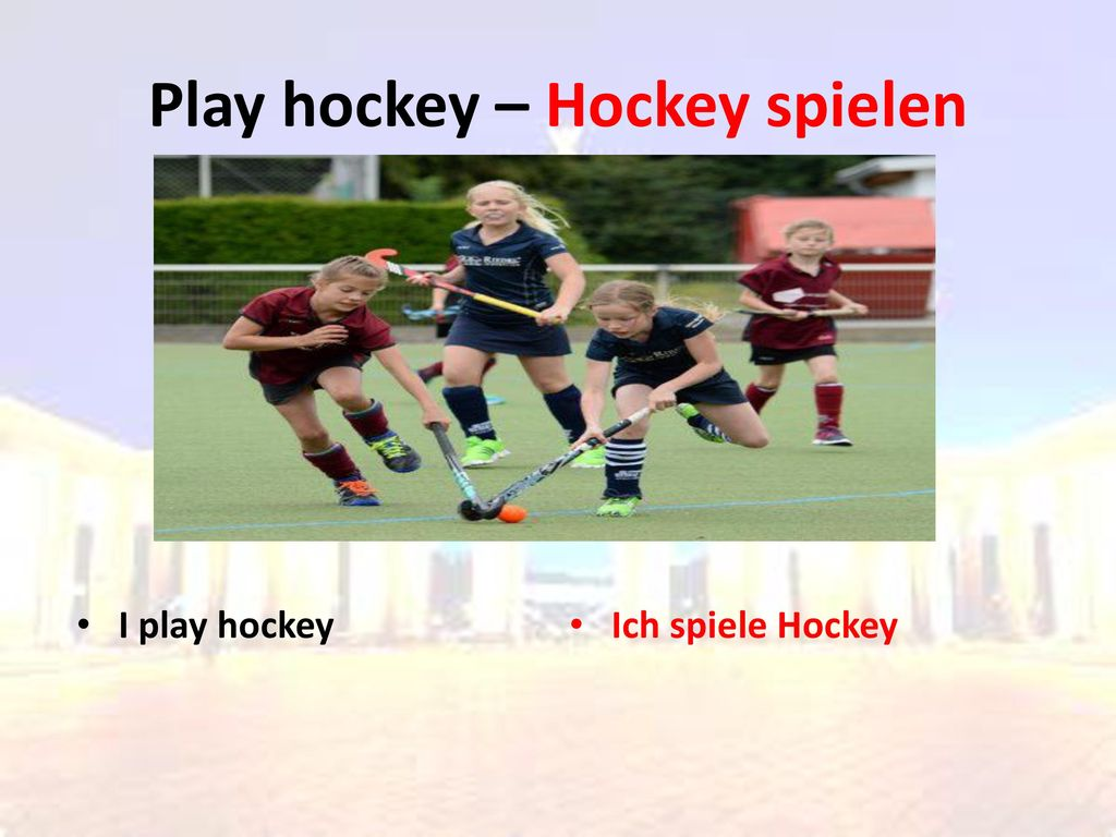 Play hockey – Hockey spielen