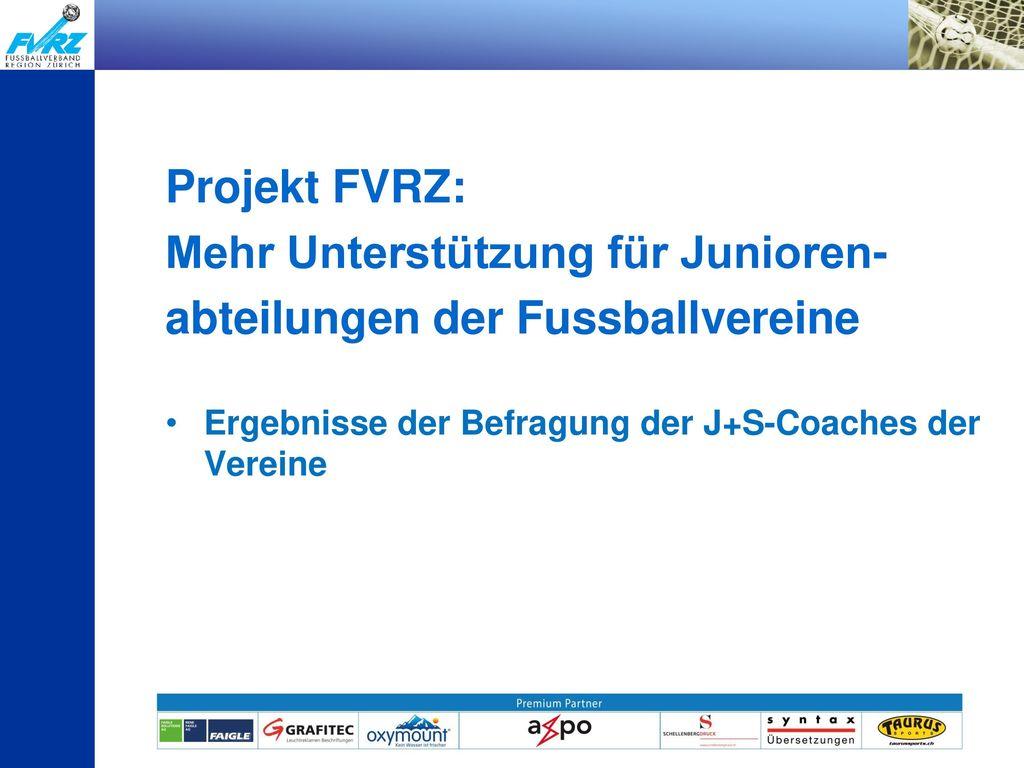 Mehr Unterstützung für Junioren- abteilungen der Fussballvereine